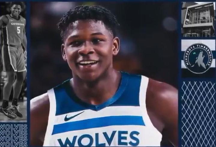 Los Timberwolves dan la bienvenida a Anthony Edwards
