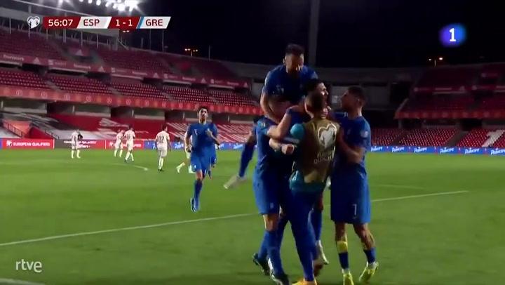 Grecia empata tras un penalti de Iñigo Martínez