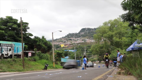 Time-Lapse: de la 7ma de la Vuelta Ciclística de EL HERALDO