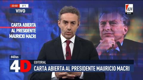 La carta abierta que Luis Majul le envió a Mauricio Macri