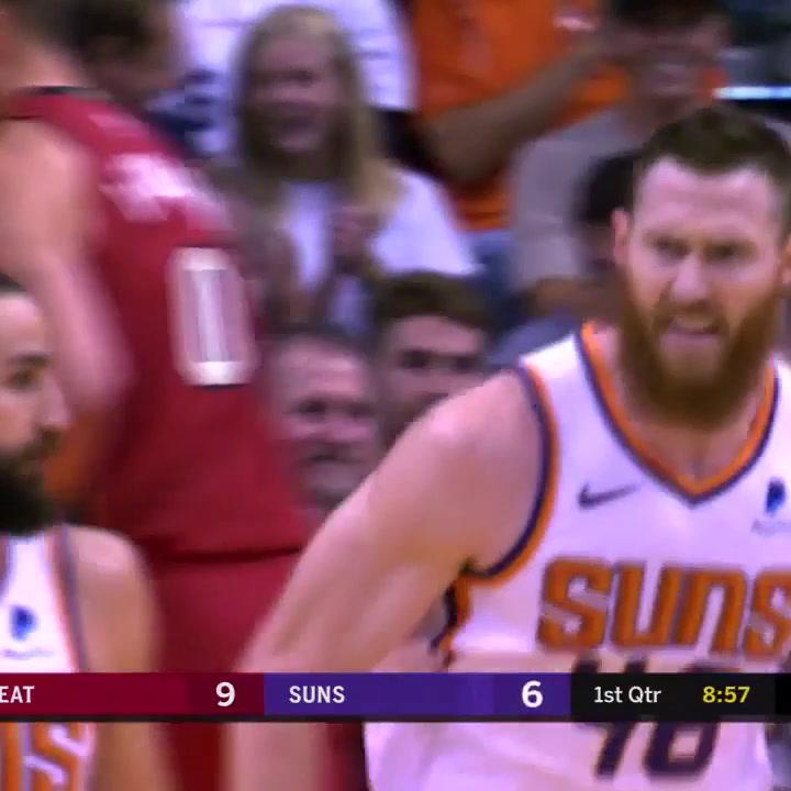 El partido de Ricky Rubio (Phoenix Suns) ante Miami Heat