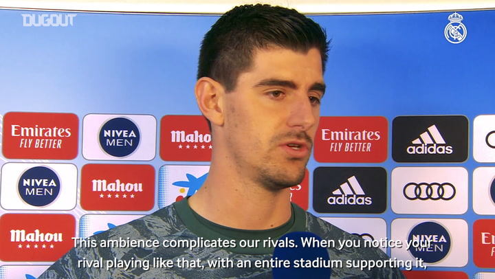 Courtois and Valverde react to victory over FC Barcelona