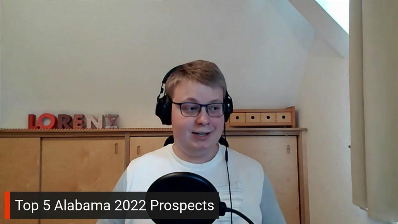 Alabama top 5 2022 prospects