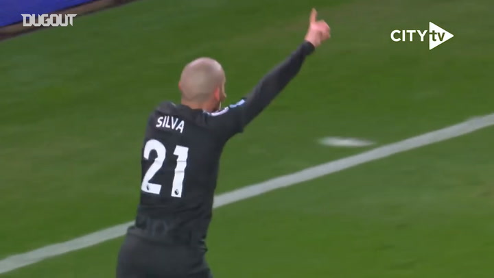 David Silva's masterclass vs Stoke City