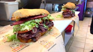 Ike's $100 Sandwich