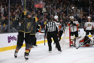 "Golden Knights Coach says ""Puck Luck"" is Going Team's Way Right Now"