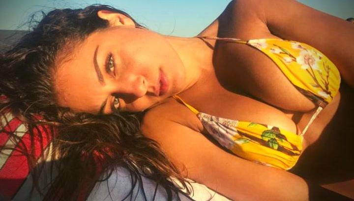 Hiba Abouk, sensualidad en Instagram