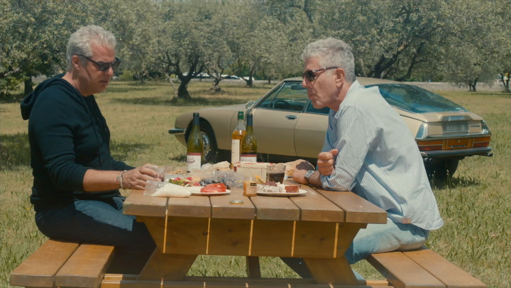 'Roadrunner: A Film About Anthony Bourdain' Clip: Provence Picnic with Eric