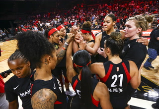 Las Vegas Aces Season is Over with Game 4 Loss to Washington Mystics – Video Highlights