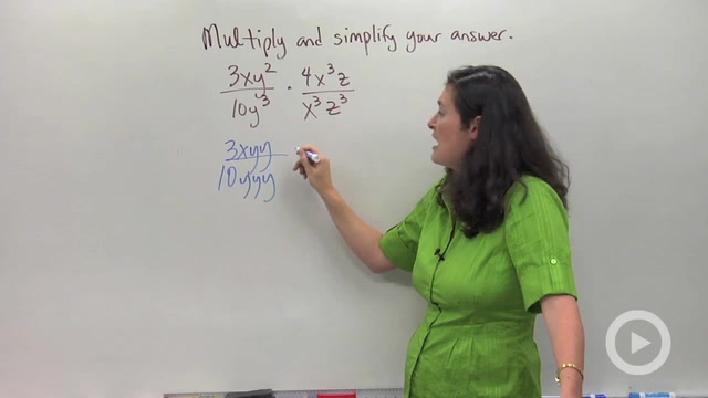 Multiplying and Dividing Rationals - Problem 1