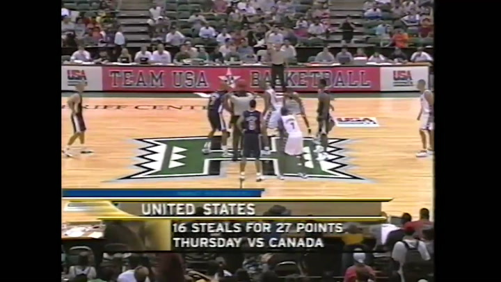 USA Basketball Classics: 2000 USA Men's National Team vs. USA Select Team