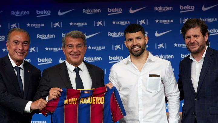 """Sergio Agüero: """"Espero jugar con Messi: creo que Leo seguirá"""""""