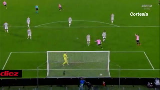 Dembelé hace el primer gol del Barcelona en Turín ante la Juventus