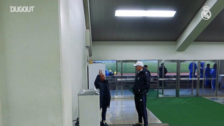 Roberto Carlos dan Zidane mengenang Voli Menakjubkan Zizou