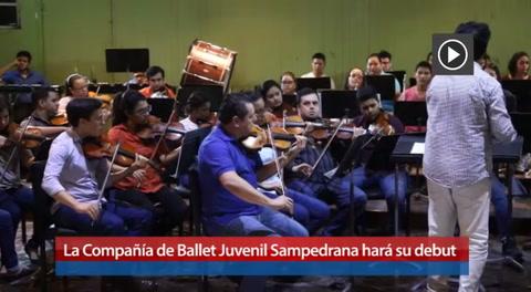 La Compañía de Ballet Juvenil Sampedrana hará su debut