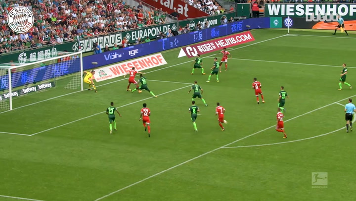 Incredible Goals: Robert Lewandowski Vs Bremen