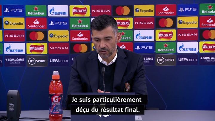 """Quarts - Conceição : """"On a été supérieur à Chelsea sur les deux matches"""""""