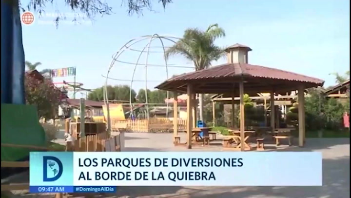 Parques de diversiones al borde de la quiebra