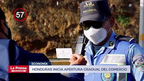 Avance Informativo: Honduras inicia apertura gradual del comercio tras casi tres meses de cierre