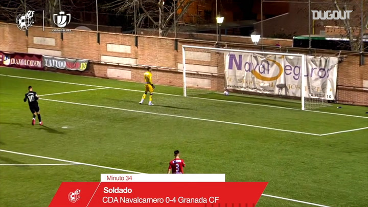 Roberto Soldado surprises the keeper with distant chip