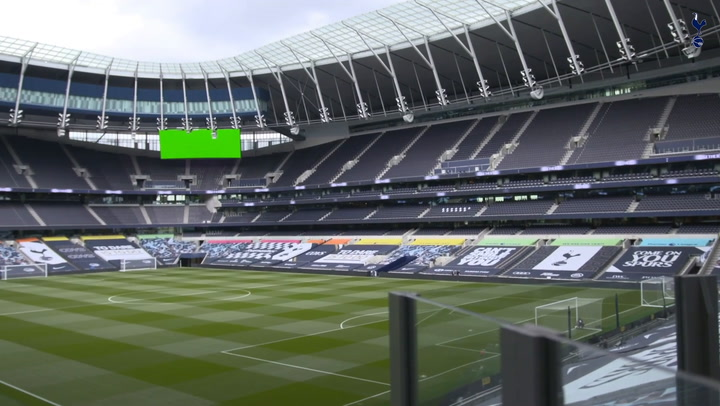 Behind the scenes of Spurs' Premier League return vs Manchester United