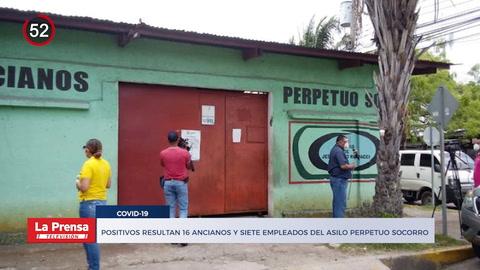 Noticiero: Positivos de COVID-19 resultan 16 ancianos y siete empleados del asilo Perpetuo Socorro