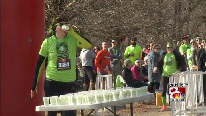 Local runners take part in \