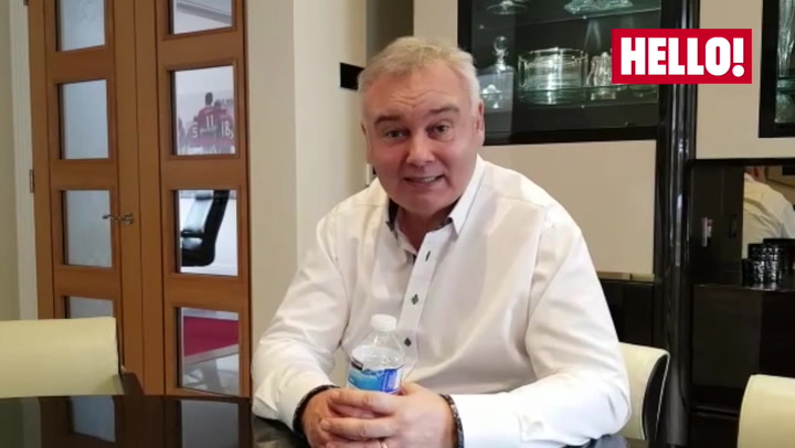 Eamonn Holmes prepares to watch Ruth Langsford on Strictly, week 3