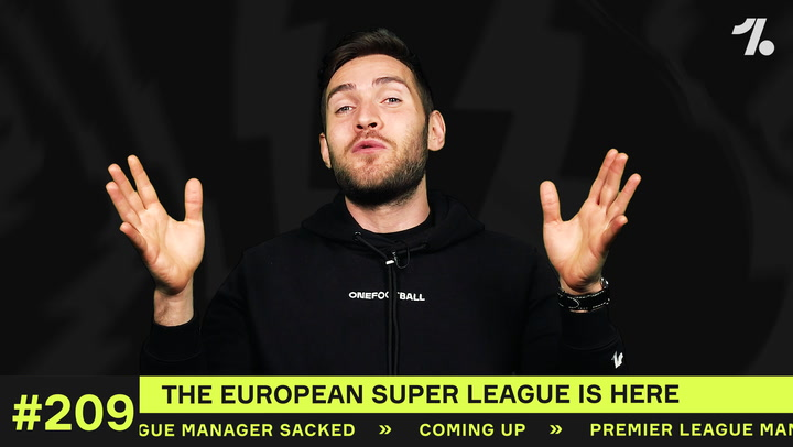 The European Super League is HERE