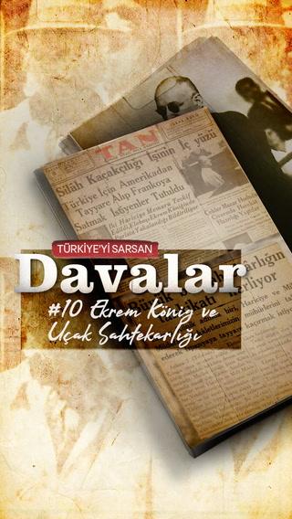 Türkiye'yi Sarsan Davalar: Ekrem König ve uçak sahtekarlığı