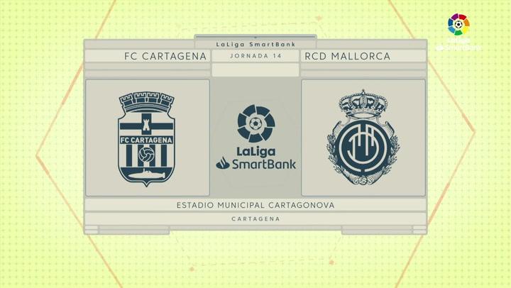 LaLiga SmartBank (J14): Resumen y goles del Cartagena 1-2 Mallorca