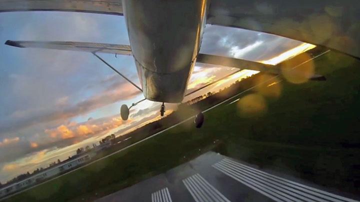 Måtte nødlande sekunder etter takeoff