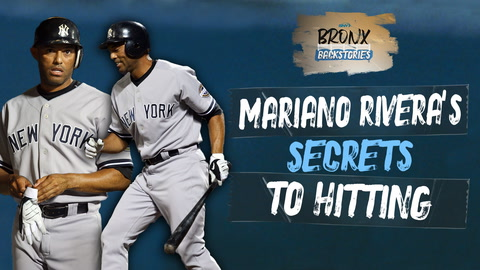 Where did Yankees legend Mariano Rivera get the bat he used for his one RBI?