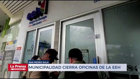 Alcaldía de San Pedro Sula cierra oficinas de la EEH