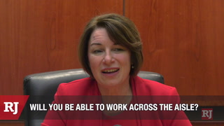 Senator Amy Klobuchar Interview with RJ Editorial Board