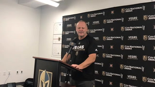 Gerard Gallant liked the bounce-back effort of Golden Knights vs. Bruins