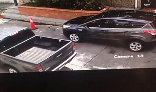 Cámaras de seguridad captan momento en que tirotean vehículo en SPS