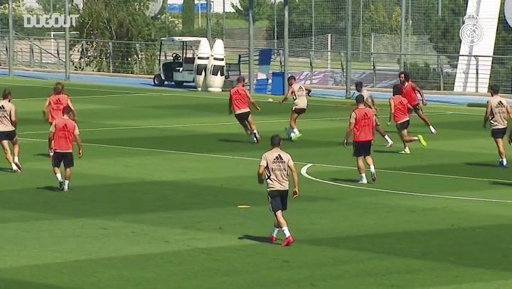 Real Madrid inicia preparação para duelo contra o Getafe