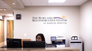 New burn unit at Sunrise Hospital