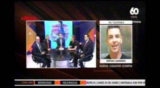 Matías Garrido, nuevo jugador del Olimpia: