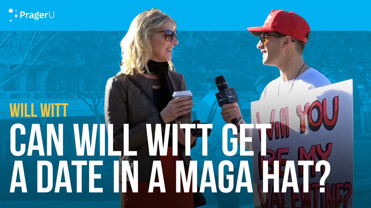 Can Will Witt Get a Date in a MAGA Hat?