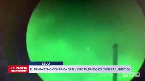 El Pentágono confirma que video filtrado de ovni es auténtico