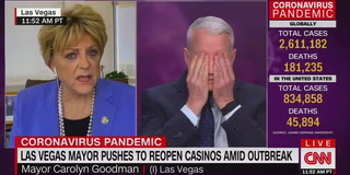 Las Vegas Mayor Goodman calls Anderson Cooper an alarmist – VIDEO