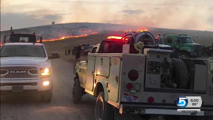 At Least 34 Wildfires Broke Out In Box Elder County After Storm