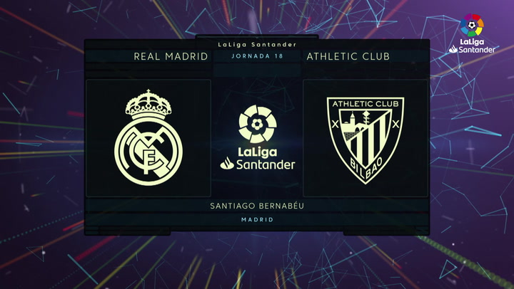 LaLiga Santander (J18): Resumen del Real Madrid 0-0 Athletic