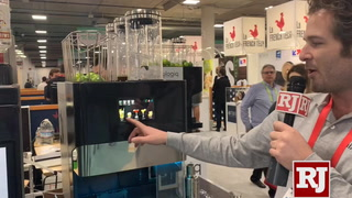 CES 2019: Mixologiq cocktail machine at CES – VIDEO