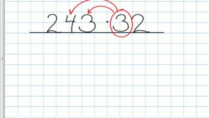 Matte: Hvordan få til multiplikasjon av flersifrede tall
