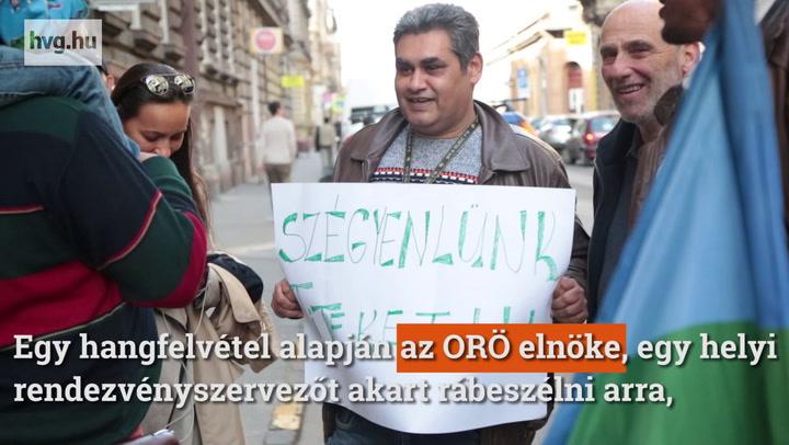 ORŐ elleni tüntetés: Azt akarjuk, hogy menjenek innen a p****ba