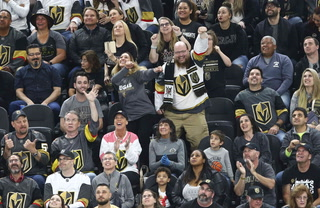 Copy of: Golden Knights clinch Pacific division, playoff home ice