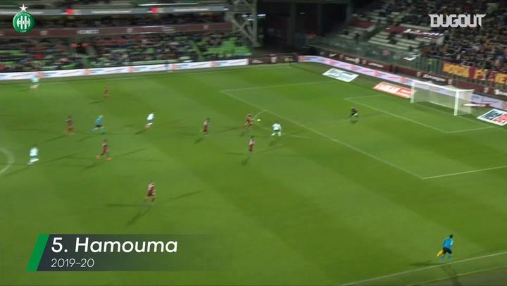 Saint-Etienne's top five goals vs Metz